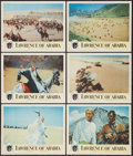 "Movie Posters:Academy Award Winners, Lawrence of Arabia (Columbia, 1962). Lobby Cards (6) (11"" X 14"").Academy Award Winners.. ... (Total: 6 Items)"