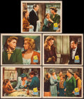 "Movie Posters:Drama, A Tree Grows in Brooklyn (20th Century Fox, 1945). Lobby Cards (5)(11"" X 14""). Drama.. ... (Total: 5 Items)"