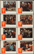 """Movie Posters:Adventure, North West Mounted Police (Paramount, R-1958). Lobby Card Set of 8(11"""" X 14""""). Adventure.. ... (Total: 8 Items)"""