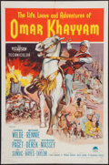 "Movie Posters:Adventure, Omar Khayyam & Other Lot (Paramount, 1957). One Sheet (27"" X41"") & Lobby Cards (5) (11"" X 14""). Adventure.. ... (Total: 6Items)"