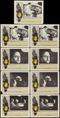 """Movie Posters:Crime, Seance on a Wet Afternoon (Allied Film Makers, 1964). Lobby Cards (9) (11"""" X 14""""). Crime.. ... (Total: 9 Items)"""