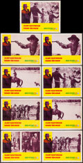 """Movie Posters:Western, Hang 'Em High (United Artists, 1968). Lobby Cards (9) (11"""" X 14""""). Western.. ... (Total: 9 Items)"""