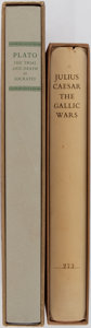 Books:Fine Bindings & Library Sets, [Limited Editions Club]. Julius Caesar. The Gallic Wars. LEC, 1954. No. 273 of 1500 copies signed by the printer and... (Total: 2 Items)