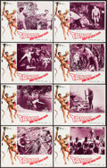 """Movie Posters:Adventure, Tarzan and the Great River (Paramount, 1967). Lobby Card Set of 8(11"""" X 14""""). Adventure.. ... (Total: 8 Items)"""
