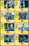 "Movie Posters:Adventure, Tarzan's Jungle Rebellion and Other Lot (National General Pictures,1970). Lobby Card Sets of 8 (2) (11"" X 14""). Adventure.... (Total:16 Items)"