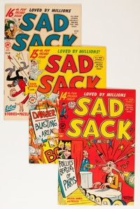 Sad Sack Comics File Copies Group (Harvey, 1951-67) Condition: Average VF+.... (Total: 73 Comic Books)