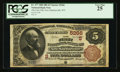 National Bank Notes:West Virginia, New Martinsville, WV - $5 1882 Brown Back Fr. 477 The First NB Ch.# (S)5266. ...