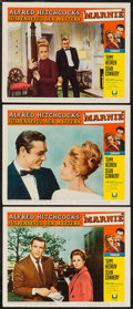 """Movie Posters:Hitchcock, Marnie (Universal, 1964). Lobby Cards (3) (11"""" X 14""""). Hitchcock..... (Total: 3 Items)"""