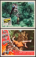 """Movie Posters:Horror, From Hell It Came & Other Lot (Allied Artists, 1957). Lobby Cards (2) (11"""" X 14""""). Horror.. ... (Total: 2 Items)"""