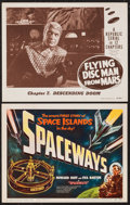 "Movie Posters:Science Fiction, Spaceways & Other Lot (Lippert, 1953). Title Lobby Card &Lobby Card (11"" X 14""). Science Fiction.. ... (Total: 2 Items)"