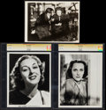 """Movie Posters:Crime, Ann Dvorak in Scarface (United Artists, 1932). Trimmed Photo (7.5""""X 10"""") & CGC Photos (2) (8"""" X 10""""). Miscellaneous.. ... (Total:3 Items)"""