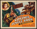 "Movie Posters:Adventure, Jungle Book (United Artists, 1942). Title Lobby Card (11"" X 14"").Adventure.. ..."