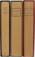 Books:Fine Bindings & Library Sets, [Limited Editions Club]. Various Authors. Group of Three. LEC.Includes Quo Vadis?, The Toilers of the Sea, and IProm... (Total: 3 Items)