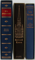 Books:Fine Bindings & Library Sets, [Limited Editions Club]. Anthony Trollope. Wilkie Collins. Group of Three. LEC. Includes Barchester Towers, The Moonstone... (Total: 3 Items)