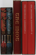 Books:Fine Bindings & Library Sets, Fyodor Dostoevsky. Group of Five. Limited Editions Club. Publisher's binding and slipcases. Includes The Possessed, The Id... (Total: 5 Items)