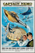 """Movie Posters:Science Fiction, Captain Nemo and the Underwater City (MGM, 1970). One Sheets (2)(27"""" X 41""""), Lobby Card Sets of 8 (2), and Lobby Cards (3) ...(Total: 22 Items)"""