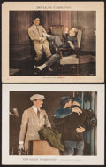 "Movie Posters:Adventure, His Majesty, the American (United Artists, 1919). Lobby Cards (2)(11"" X 14""). Adventure.. ... (Total: 2 Items)"