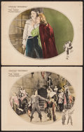 """Movie Posters:Swashbuckler, The Three Musketeers (United Artists, 1921). Lobby Cards (2) (11"""" X 14""""). Swashbuckler.. ... (Total: 2 Items)"""