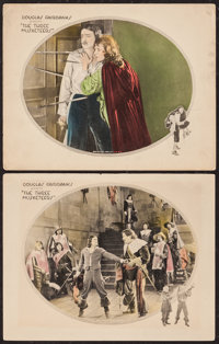 """The Three Musketeers (United Artists, 1921). Lobby Cards (2) (11"""" X 14""""). Swashbuckler. ... (Total: 2 Items)"""