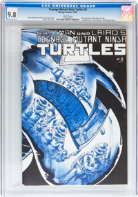 Teenage Mutant Ninja Turtles #2 (Mirage Studios, 1984) CGC NM/MT 9.8 White pages