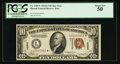 Small Size:World War II Emergency Notes, Fr. 2303* $10 1934A Hawaii Federal Reserve Note. PCGS About New50.. ...