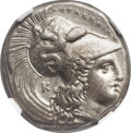 Ancients:Greek, Ancients: LUCANIA. Heracleia. Ca. 330-325 BC. AR stater (23mm, 7.76gm, 4h)....