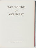 Books:Art & Architecture, [Encyclopedia]. Group of Fifteen. Encyclopedia of World Art. McGraw-Hill, 1959. Publisher's cloth binding. Complete ... (Total: 15 Items)