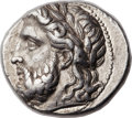 Ancients:Greek, Ancients: MACEDONIAN KINGDOM. Philip II (359-336 BC). AR tetradrachm (26mm, 14.36 gm, 7h). ...