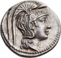 Ancients:Greek, Ancients: ATTICA. Athens. Ca. 165-42 BC. AR tetradrachm (28.5mm, 16.90 gm, 11h). ...