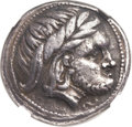 Ancients:Celtic, Ancients: LOWER DANUBIAN CELTS. 3rd Century BC or later. ARtetradrachm (25mm, 13.46 gm, 4h)....