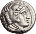 Ancients:Greek, Ancients: MACEDONIAN KINGDOM. Alexander III the Great (336-323BC).  AR tetradrachm, (25mm, 17.23 gm, 4h). ...