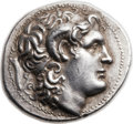 Ancients:Greek, Ancients: THRACIAN KINGDOM. Lysimachus (323-281 BC). AR tetradrachm(29mm, 17.11 gm, 1h). ...