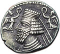 Ancients:Oriental, Ancients: PARTHIAN KINGDOM. Phraataces and Musa (2 BC-AD 4). AR drachm (20mm, 3.85 gm, 12h). ...
