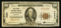 National Bank Notes:Kentucky, Covington, KY - $100 1929 Ty. 1 The Citizens NB Ch. # 4260. ...