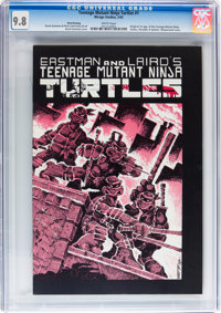 Teenage Mutant Ninja Turtles #1 Third Printing (Mirage Studios, 1985) CGC NM/MT 9.8 White pages