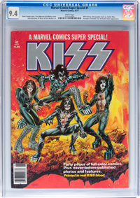 Marvel Comics Super Special #1 (Marvel, 1977) CGC NM 9.4 White pages