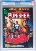 Magazines:Superhero, Marvel Preview #2 The Punisher (Marvel, 1975) CGC NM- 9.2 Off-white to white pages....