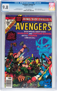 The Avengers Annual #7 (Marvel, 1977) CGC NM/MT 9.8 Off-white to white pages
