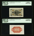 Fractional Currency:Third Issue, Fr. 1253SP & 1251SP 10¢ Third Issue PCGS Gem New 65PPQ and Very Choice New 64PPQ.. ... (Total: 2 notes)