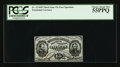 Fractional Currency:Third Issue, Fr. 1274SP 15¢ Third Issue Narrow Margin Grant-Sherman Face PCGS Choice About New 55PPQ.. ...