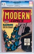 Golden Age (1938-1955):War, Modern Comics #58 (Quality, 1947) CGC NM- 9.2 Off-white to whitepages....