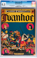 Golden Age (1938-1955):Classics Illustrated, Classic Comics #2 Ivanhoe - first edition (Elliot, 1941) CGC VG+ 4.5 Cream to off-white pages....