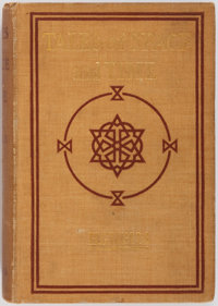 H.G. Wells. Tales of Space and Time. Harper & Brothers, 1900. First edition, first printing. Co