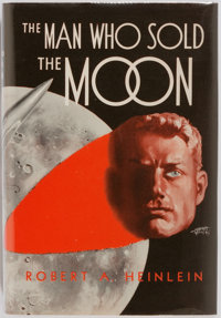 Robert A. Heinlein. The Man Who Sold the Moon. Chicago: Shasta Publishers, 1950. First edition