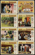 "Movie Posters:Adventure, Mark of the Renegade & Others Lot (Universal International,1951). Lobby Card Set of 8 (11"" X 14""), & One Sheets (2) (27"" X... (Total: 3 Items)"