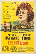"""Movie Posters:Drama, I Thank a Fool & Others Lot (MGM, 1962). One Sheets (3) (27"""" X 41""""). Drama.. ... (Total: 3 Items)"""