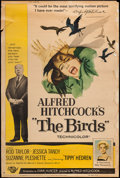 "Movie Posters:Hitchcock, The Birds (Universal, 1963). Poster (40"" X 60""). Hitchcock.. ..."