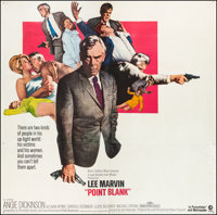 "Point Blank (MGM, 1967). Six Sheet (77.5"" X 80.5""). Crime"