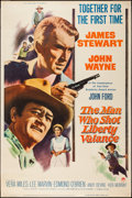 """Movie Posters:Western, The Man Who Shot Liberty Valance (Paramount, 1962). Poster (40"""" X 60""""). Western.. ..."""