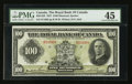 Canadian Currency: , Montreal, PQ- The Royal Bank of Canada $100 Jan. 3, 1927 Ch. #630-14-20. ...